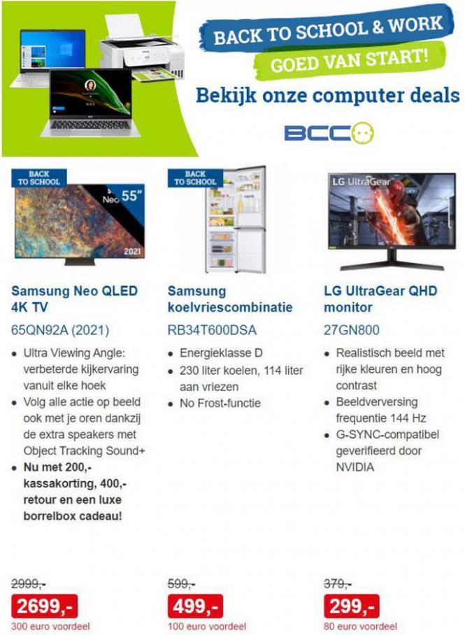 Nóg meer deals!. BCC (2021-09-05-2021-09-05)