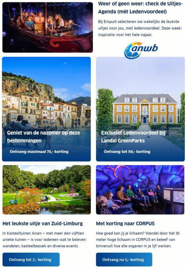 Ontdek deze leuke steden in Nederland. ANWB (2021-09-19-2021-09-19)
