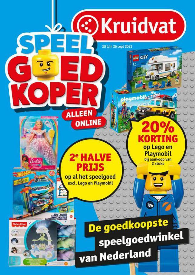 Speelgoedfolder Kruidvat Nederland. Kruidvat (2021-09-26-2021-09-26)