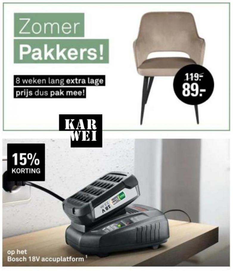 Zomer pakkers!. Karwei (2021-09-03-2021-09-03)