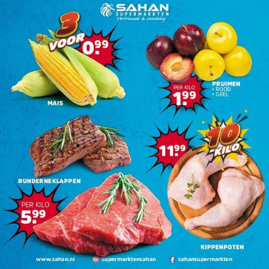 Aanbiedingen. Sahan Supermarkten (2021-09-12-2021-09-12)