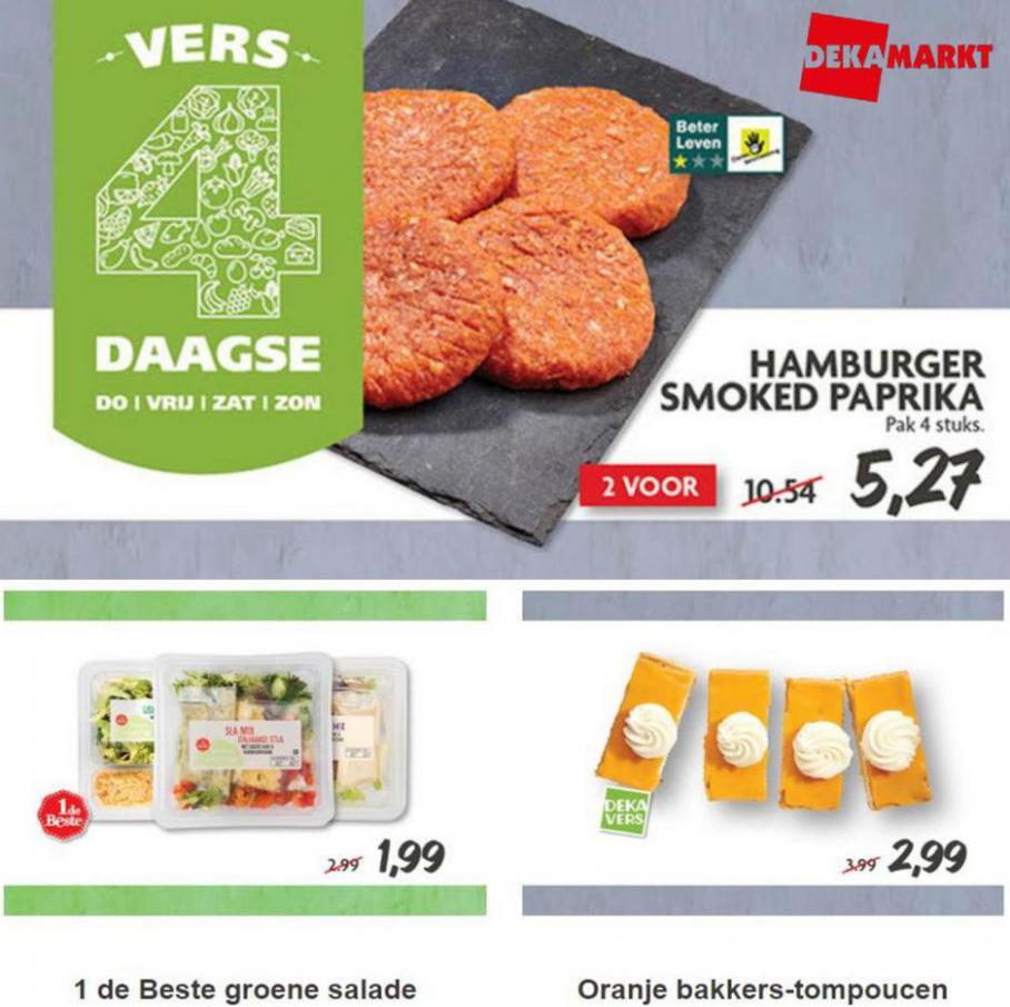 Nieuwe Vers 4-Daagse aanbiedingen bij DekaMarkt!. Dekamarkt (2021-09-10-2021-09-10)