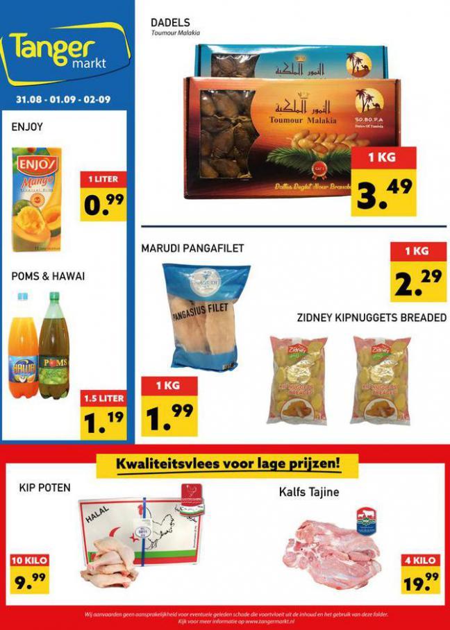 Aanbiedingen Folder. Tanger Markt (2021-09-02-2021-09-02)