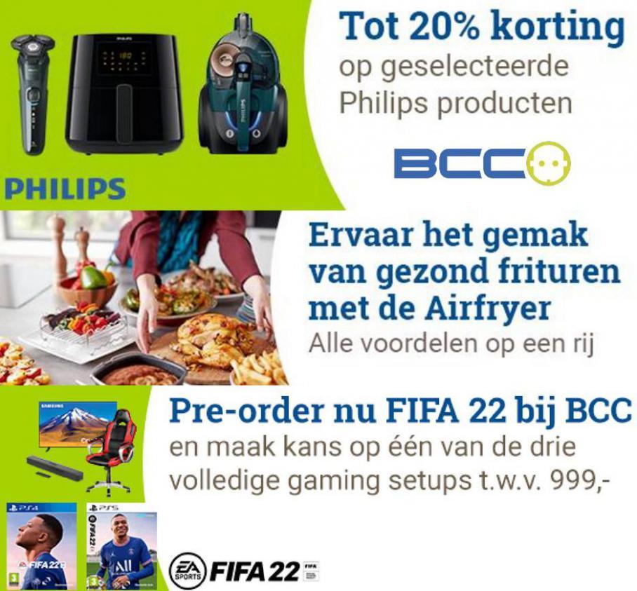 Tot 20% korting op geselecteerde Philips producten. BCC (2021-10-03-2021-10-03)