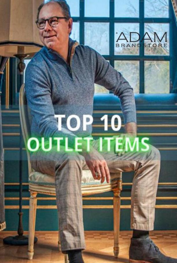 Top 10 Outlet Items. Adam Brandstore (2021-09-30-2021-09-30)