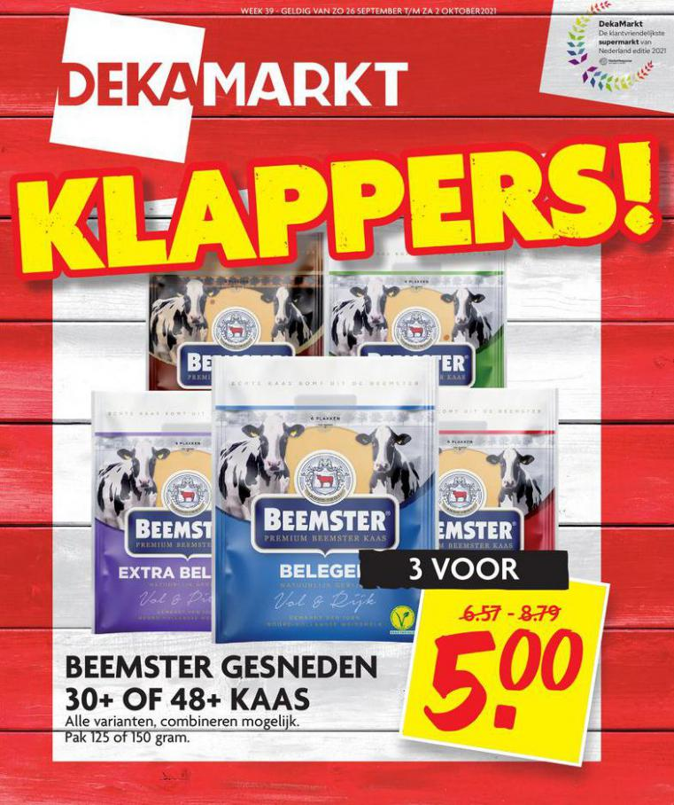 Klappers!. Dekamarkt (2021-10-02-2021-10-02)