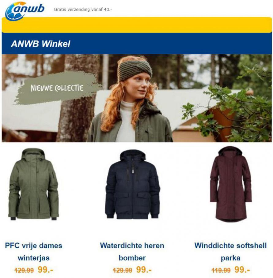 Nieuw binnen: de herfst/winter collectie 2021. ANWB (2021-09-13-2021-09-13)