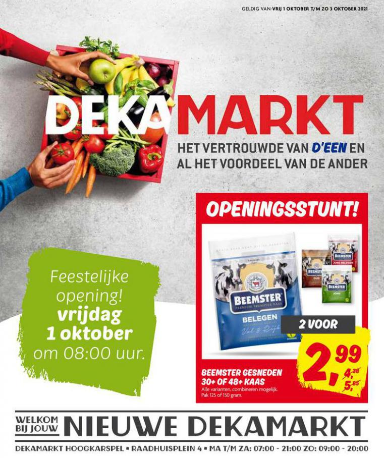 Nieuwe DekaMarkt. Dekamarkt (2021-10-03-2021-10-03)