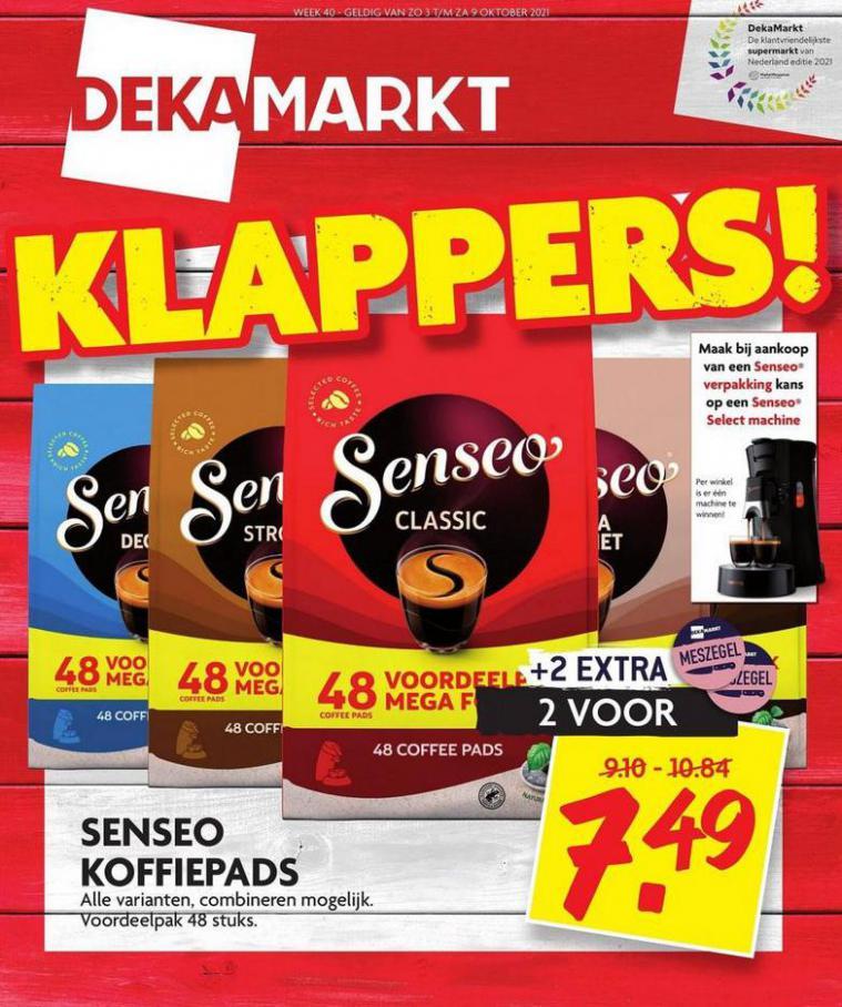 Klappers!. Dekamarkt (2021-10-09-2021-10-09)