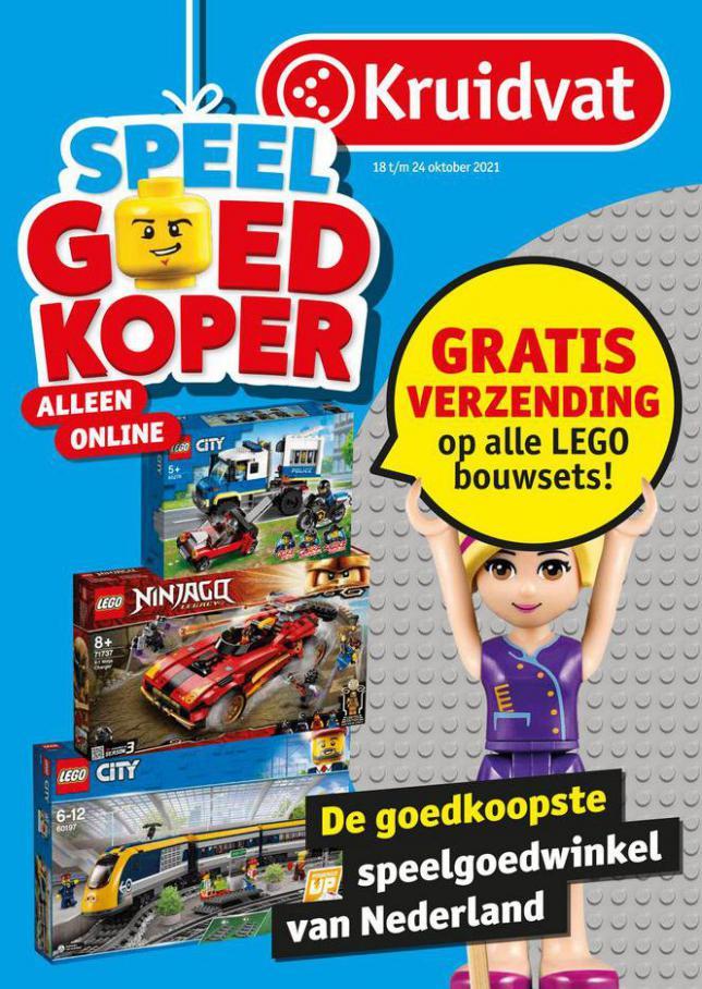 Speelgoedfolder Kruidvat Nederland. Kruidvat (2021-10-31-2021-10-31)