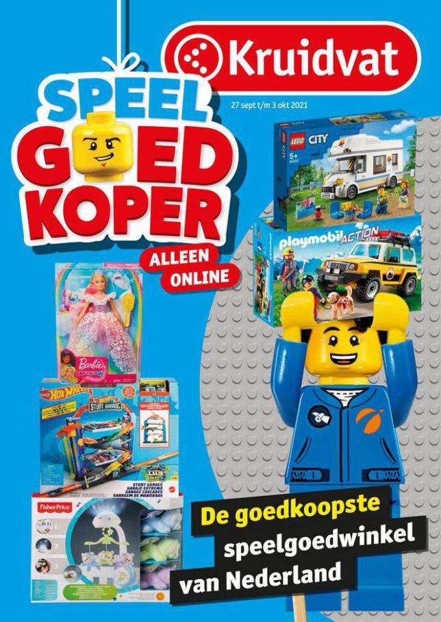 Speelgoedfolder Kruidvat Nederland. Kruidvat (2021-10-03-2021-10-03)