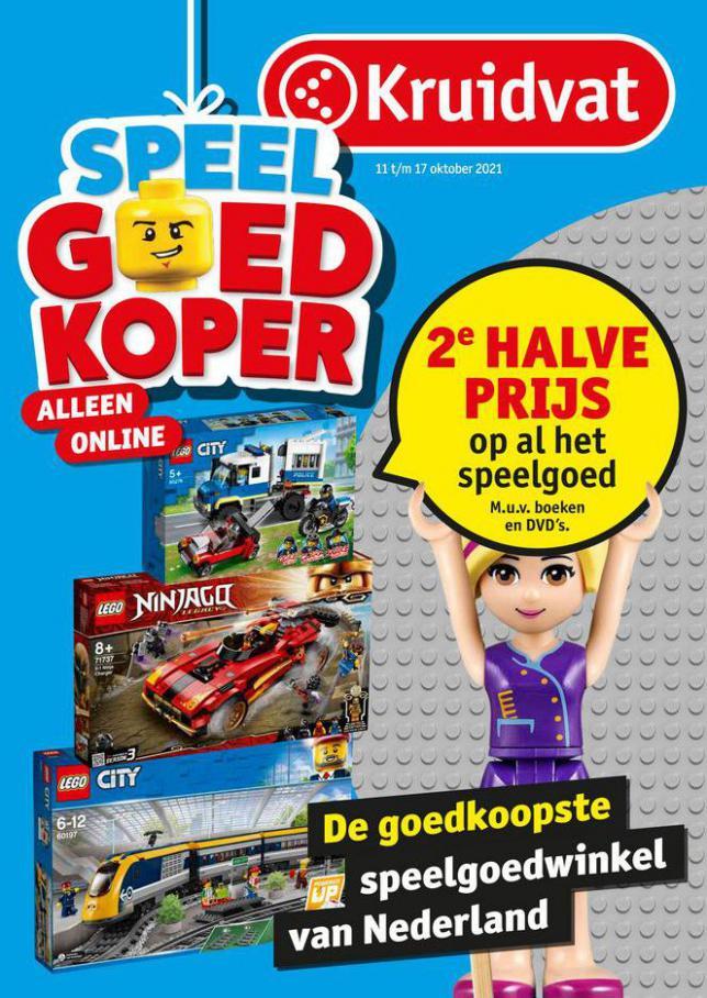 Speelgoedfolder Kruidvat Nederland. Kruidvat (2021-10-17-2021-10-17)