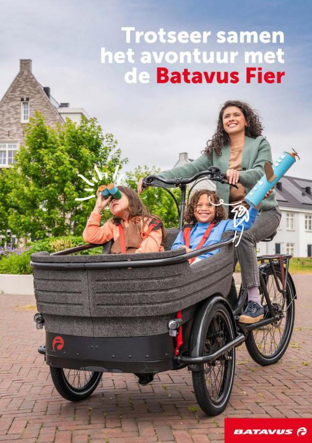 Trotseer samen het avontuur met de Batavus Fier. Batavus (2021-10-31-2021-10-31)