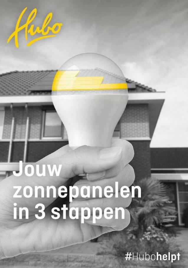 Jouw zonnepanelen in 3 stappen. Hubo (2021-10-31-2021-10-31)