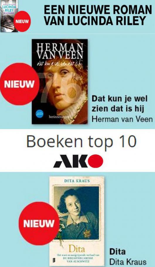 Boeken top 10. AKO (2021-10-17-2021-10-17)