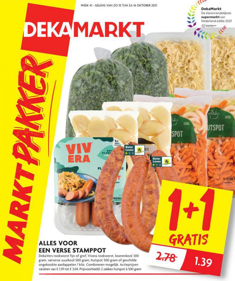 Markt Pakker. Dekamarkt (2021-10-16-2021-10-16)